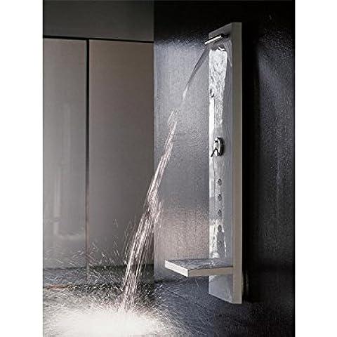 Kos Zucchetti WATER WALL Columna de ducha multifunción con cascada WATER WALL 1