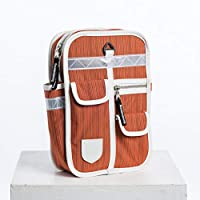 9f2651bde65e Goodordering Kids Mini Backpack Multi Pocket Retro Unisex Rucksack (Orange)