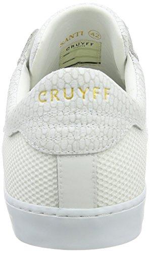 Cruyff Santi, Chaussons homme Blanc - Blanc