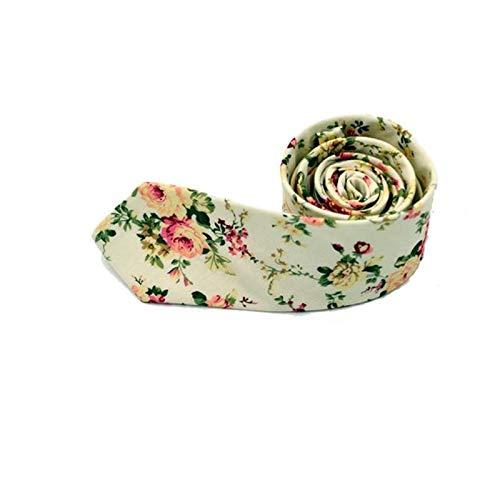 Binggong Herren 6cm Blumen Krawatte,145cm Lang Mode Hochzeit Krawatten Mehrfarbig Geometrisch Herrenkrawatte Schlips
