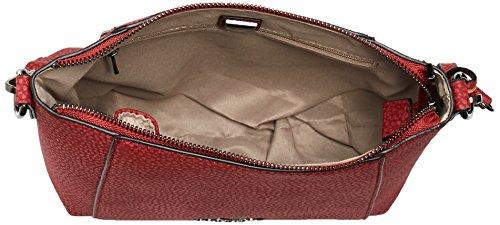 Sansibar B-895 Ka Damen Schultertaschen 27x20x10 cm (B x H x T) Rot (Cherry)