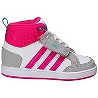 Adidas CG5768 Bianco Dal 20 al 27 Sneakers Con Strappo Scarpe Bambina  Ginnastica ae33a8aca23