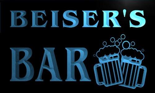 w033473-b BEISER Name Home Bar Pub Beer Mugs Cheers Neon Light Sign Barlicht Neonlicht Lichtwerbung