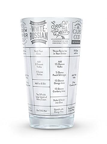 Fred Gute Maßnahme Vodka Cocktail Rezept Glas (Craft Geschenkboxen)