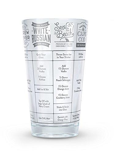 Fred Gute Maßnahme Vodka Cocktail Rezept Glas