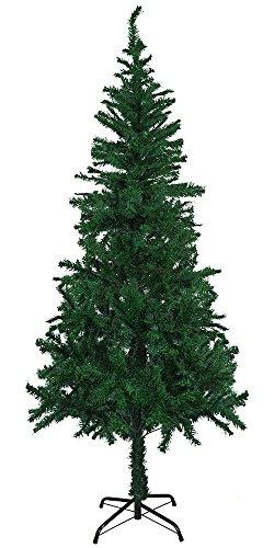 StillCool Weihnachtsbaum Künstlicher 5.9ft/180cm Tannenbaum Christbaum Weihnachtsdekoration künstliche Tanne mit ständer (180cm Grün)