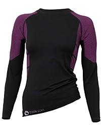 STARK SOUL sous-vêtements Techniques Microfibre pour Femme - Pantalon ou T- Shirt Manches e22184da98b