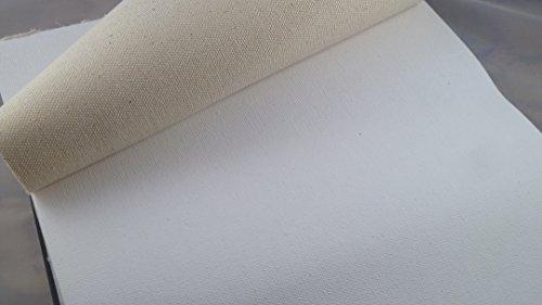 Leinwand Block 10 Bogen 22.8x30.5cm Canvas Cotton 10oz zweifach grundierter Malgrund