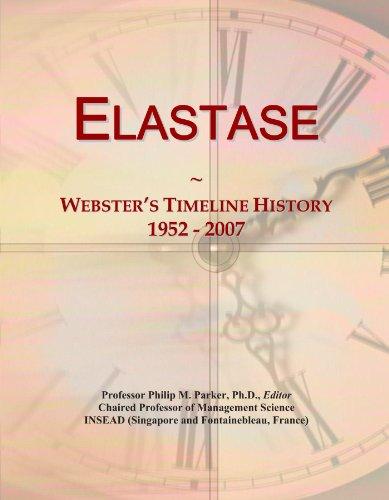 Elastase: Webster's Timeline History, 1952-2007