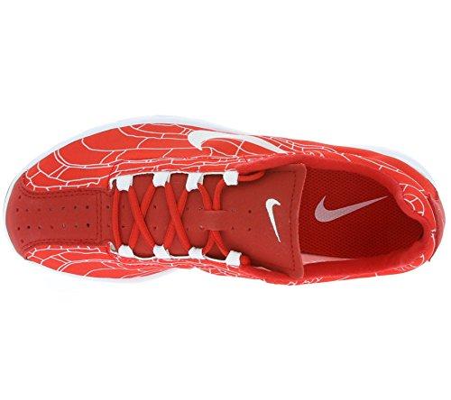 Nike Mayfly, Scarpe da Corsa Uomo, Nero Rosso / Bianco (University Red / White)