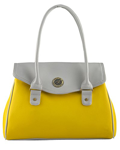 Fostelo Women's Maira Shoulder Bag (Yellow) (FSB-695)