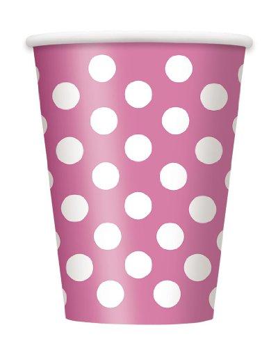 Polka-Punkten) PINK Full Party Geschirr-Kollektion, viele Partyartikel orders zur Auswahl-kombinieren Sie Versandkosten zu sparen!)