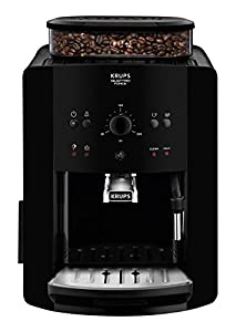 Krups Arabica Manual, Bean to Cup, Coffee Machine, Black