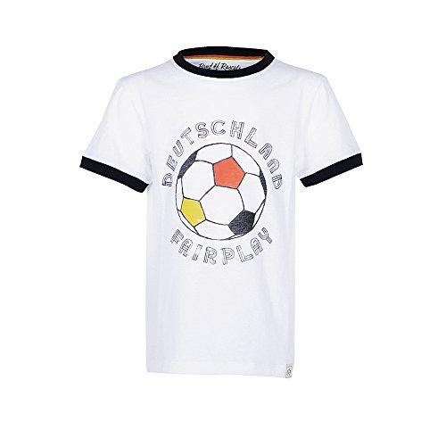 Fairplay - cooles Jungen Fußball T-Shirt Kurzarm aus 100% Bio-Baumwolle (Band Coole)