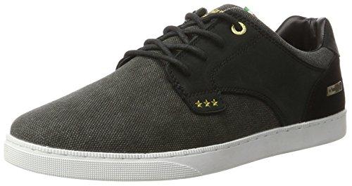 Pantofola Low Prato Herren Sneaker black Schwarz D'oro Canvas rTqIHwxr4E