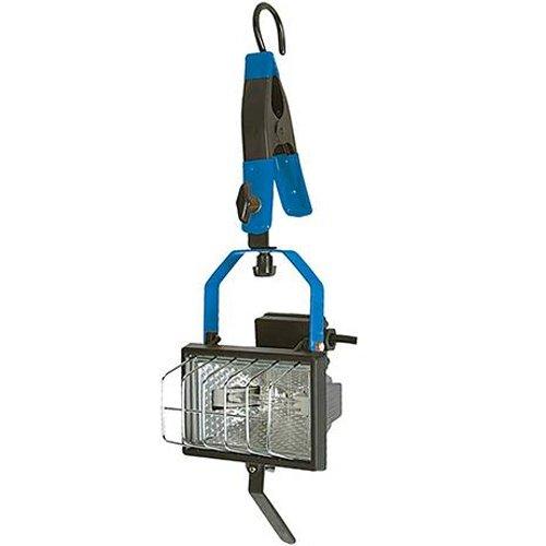 150 W Hängender Arbeitsleuchte - verstellbare Klemme & Haken - Halogenlampe - 150w 150w Halogenlampe