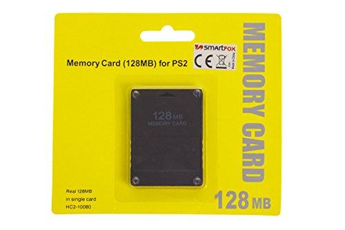 Smartfox 128 MB Speicherkarte Memory Card für Sony Playstation 2 PS2 und PS2 Slim