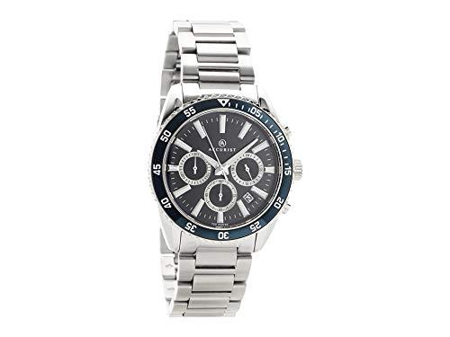 Accurist pour Homme Signature 7230en Acier Inoxydable chronographe Montre à Bracelet