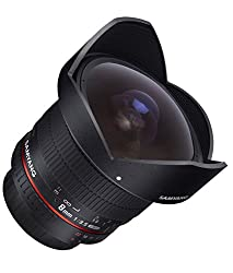 SAMYANG 8 mm f/3.5 UMC CS II fisheye lens