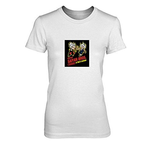 os Game - Damen T-Shirt, Größe: XL, Farbe: weiß (Beat Box Kostüm)