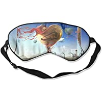 Sleep Eye Mask Creative Heart Art Lightweight Soft Blindfold Adjustable Head Strap Eyeshade Travel Eyepatch E9 preisvergleich bei billige-tabletten.eu