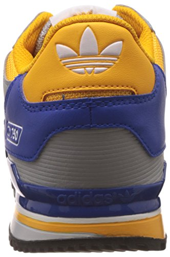 adidas ZX 750, Sneakers Basses Homme Gris (Clear Onix/Ftwr White/Bold Blue)
