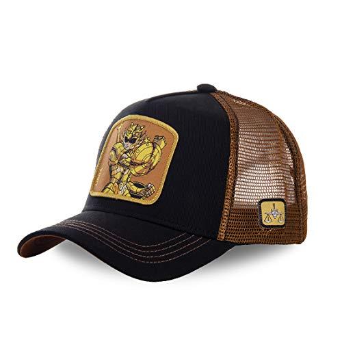 Capslab Gorra de béisbol para Hombre Saint Seiya (Libra)