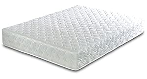 Visco Therapy Reflex Coil Spring Mattress with Taped Edge, Polyester, White, Single Deluxe, 18 cm Deep