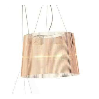 Kartell 9080p1 ge lampadario colore rosa trasparente for Lampadario amazon