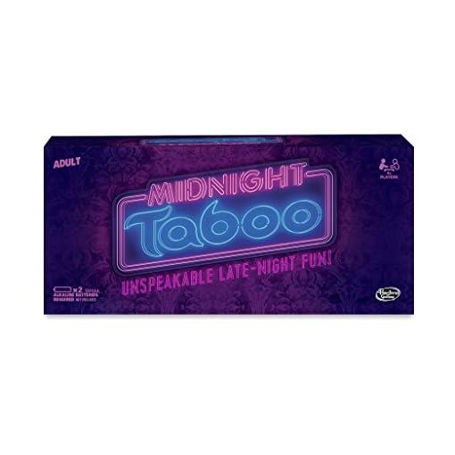 Hasbro-Midnight-Tabu-Spiel Hasbro Midnight-Tabu-Spiel -