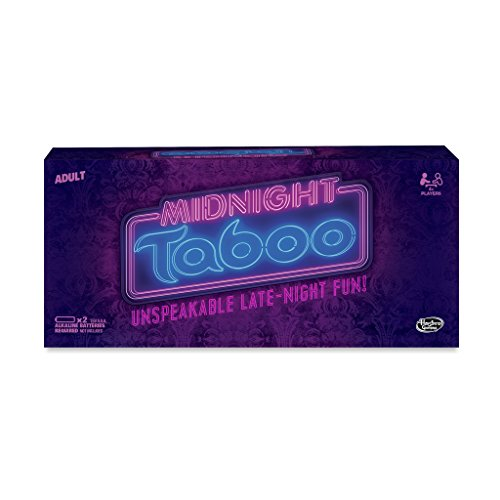 Hasbro Midnight-Tabu-Spiel (Karten Tabu)