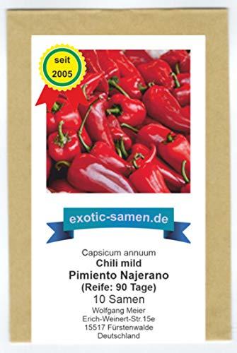 Pimiento Najerano - süßes Paprika aus Spanien (10 Samen)