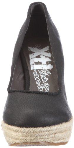XTI Pumps XTI25224SP12, Escarpins femme Noir (TR-B2-Noir-129)