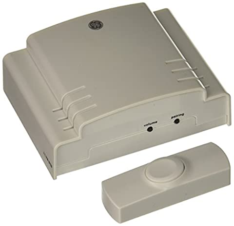 GE 19248 8-Melody Battery-Operated Chime with Pushbutton