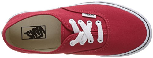 Vans Uy Authentic, Baskets Basses Fille Rouge (Strawberry Tape)