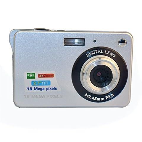 PowerLead 2.7 Zoll TFT LCD HD Mini Digitalkamera-weiß