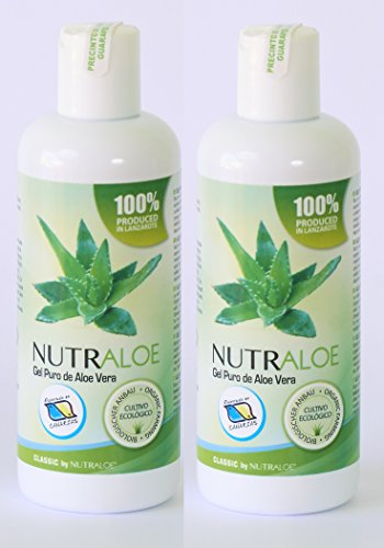 Preisvergleich Produktbild Nutraloe reines 100 % Aloe Vera Gel 250ml x 2 Stück
