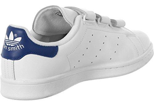 adidas Stan Smith Cf, Basket homme blanc bleu