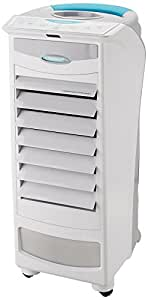 Symphony Silver-i PURE 9-Liters Air Cooler with Remote Control (White)-For small room