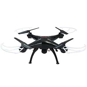 Syma X5SC-1 Falcon Drone 2.0MP HD Telecamera 4 Canali 2.4G 6Assi 3D Fly UFO 360 gradi Telecomando Quadcopter, Nuova Versione di X5SC (X5SC-1 Nero)