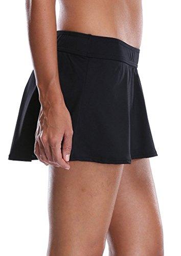 ALove Damen Tankini Rock – Bikini Rock – Baderock – mit Integrieter Hose