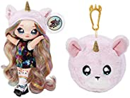 GET All Different 6 of The NA NA NA Surprise 2-in-1 Fashion Doll & Plush Pom with Confetti Balloon Unboxin