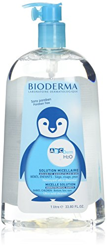 ABCDERM 1000 ml de solution de H2O micellaire