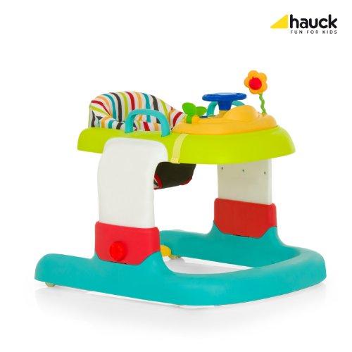 Hauck 2in1 Walker Stripe Lauflerner, Toybar, bunt, gestreifter Sitzeinhang - 4