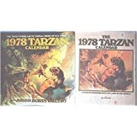 1978 Tarzan calendar: The lord of the jungle magnificently portrayed by the renowned fantasy artist Boris Vallejo by Boris Vallejo (1977-01-01)