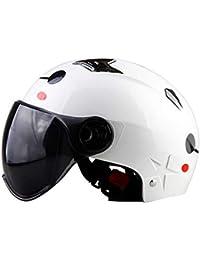 Casco De Moto Mujer Harley Casco De Verano Semicubierto Cuatro Estaciones Casco Protector Solar Universal