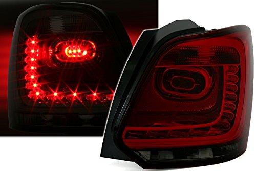 LED Rückleuchten Set in Klarglas Rot Smoke