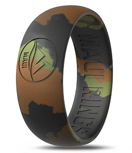Maui Rings Best Silicone Wedding Ring Men Sport Ring Engagement