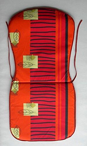 Stapelstuhl- Monoblock- Auflage / Polster Sitzkissen Sitzauflage 74 x 38 x 2 cm