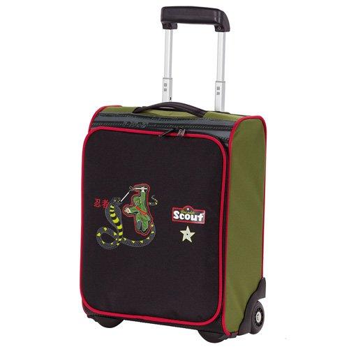 Scout 25510032500 Reisetasche Kindergepäck, 21 Liter, Grün